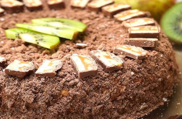 Рецепт торта из шоколадных пряников