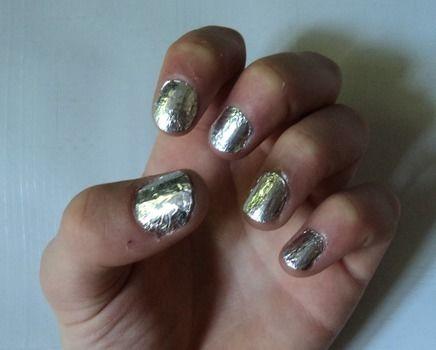 Aluminium foil nails