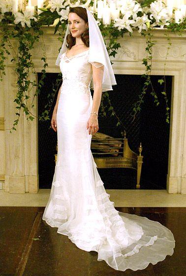 Kristin davis wedding dress