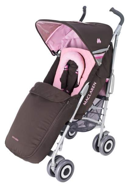 Maclaren techno xlr chocolate pink