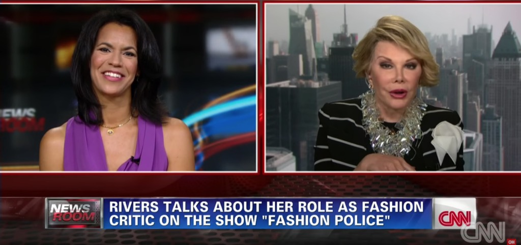 Joan Rivers Outrageous Celebrity Interview