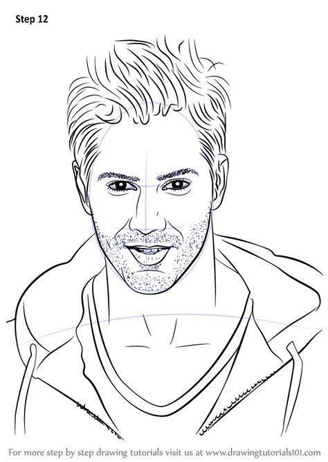 Drawings of celebrities step by step