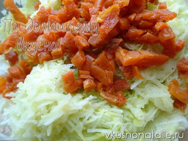 варенье из кабачков с курагой рецепт с фото