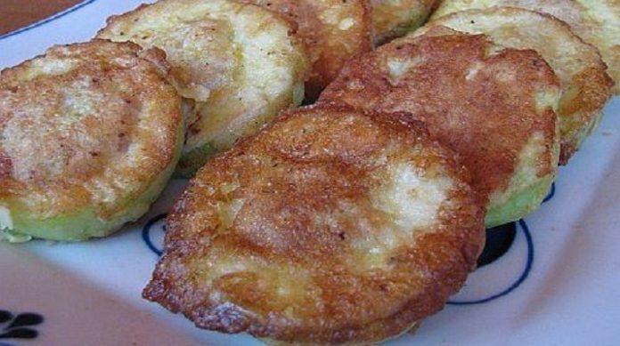 Кабачки с фаршем на сковороде в кляре рецепт с фото пошаговый