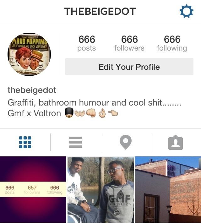 666 инстаграм