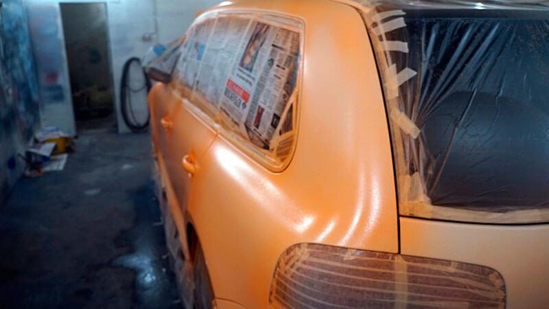 нанесение жидкой резины на авто