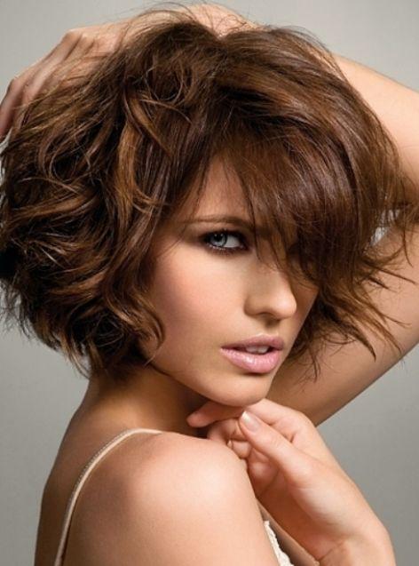 Стрижки на пушистые кудрявые волосы