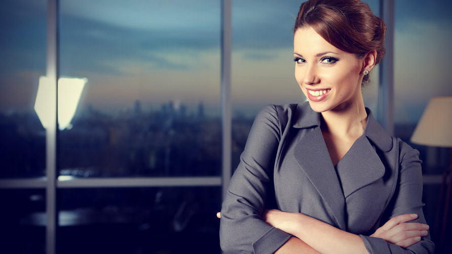 Деловой макияж женщины фото