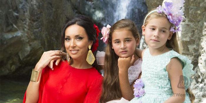Алсу сафина фото с ее детьми