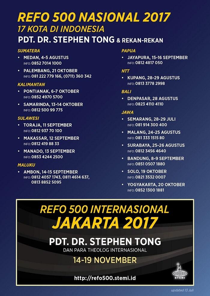 Refo 500 Nasional 2017