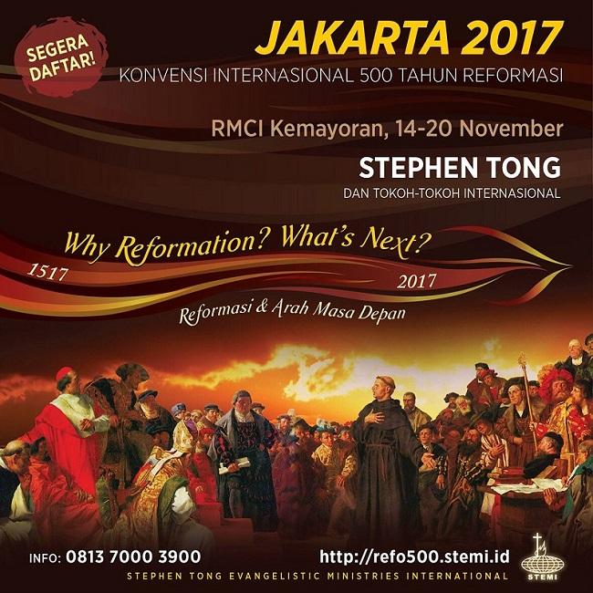 Konvensi Internasional 500 Tahun Reformasi Stemi GRII Jakarta