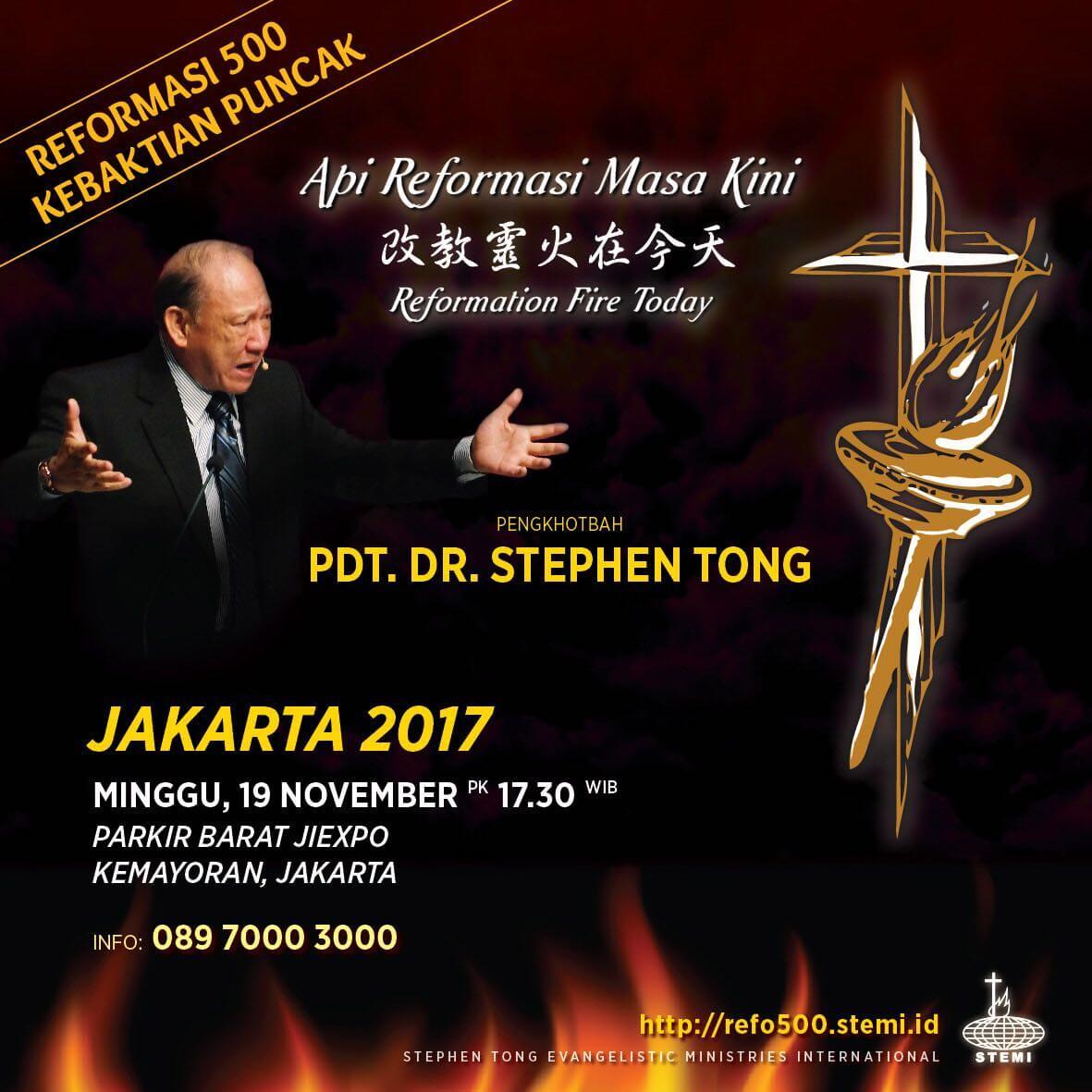 Kebaktian Puncak Reformasi 500 2017