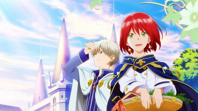 Akagami no Shirayuki-hime Review - Cover