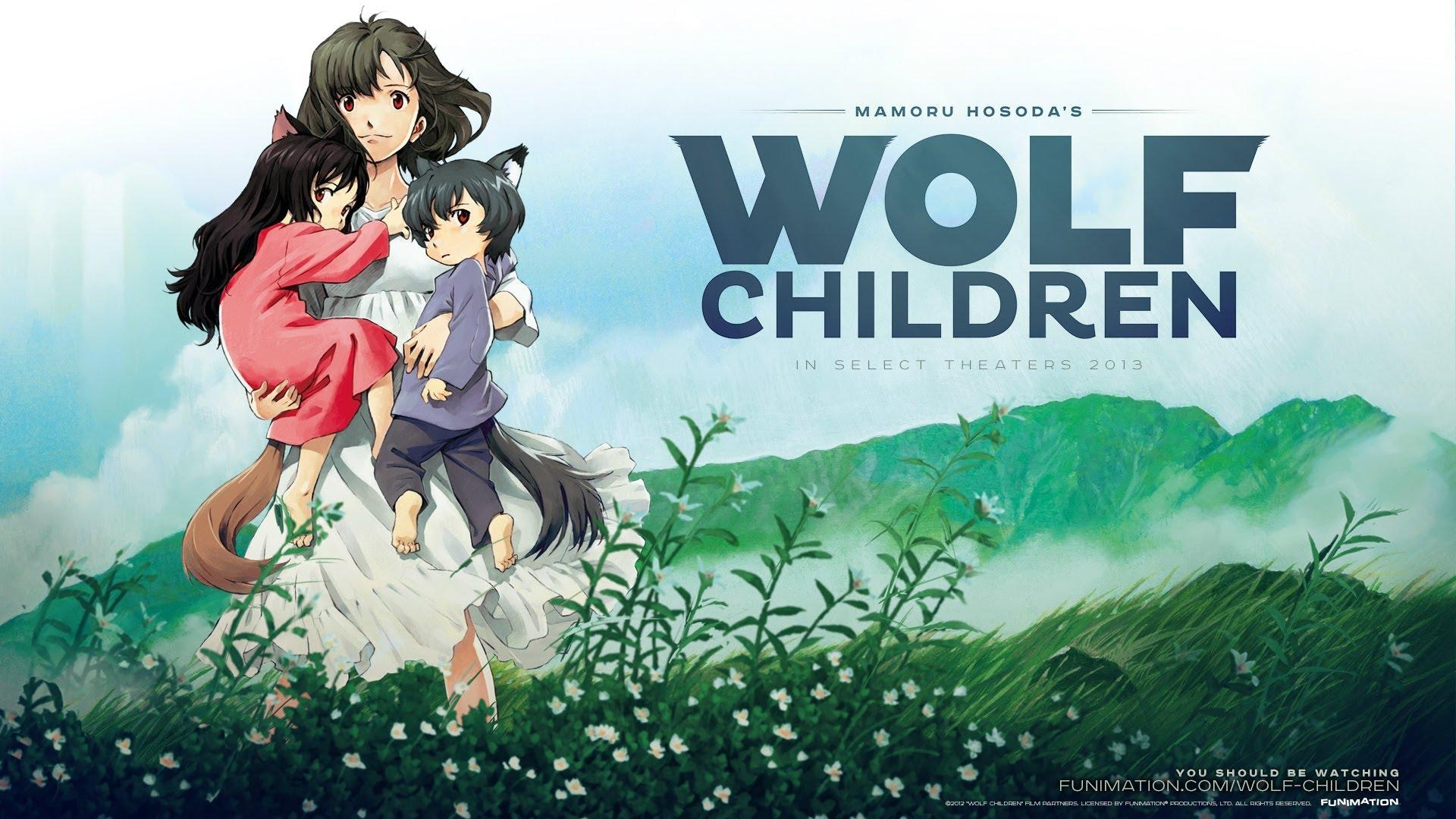 WolfChildren - Best Anime Movies