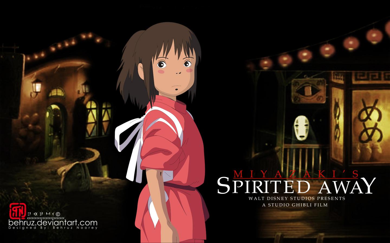 SpiritedAway - Best Anime Movies