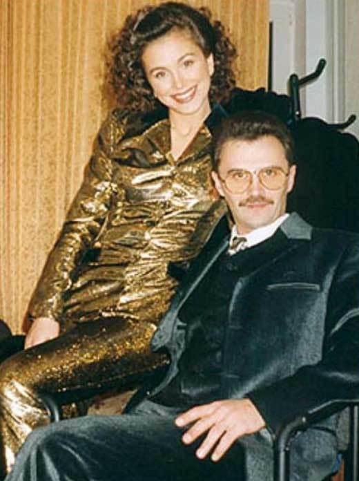 Ани Лорак и ее продюсер и первая любовь Юрий Фалеса