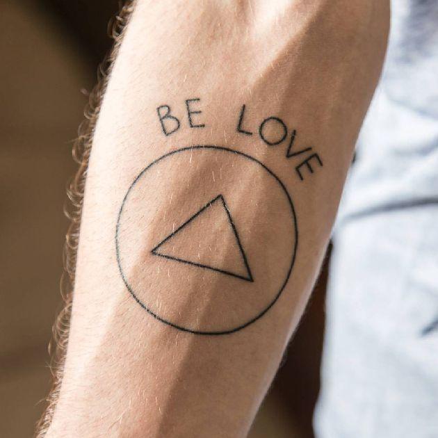 Be love tattoo jason mraz