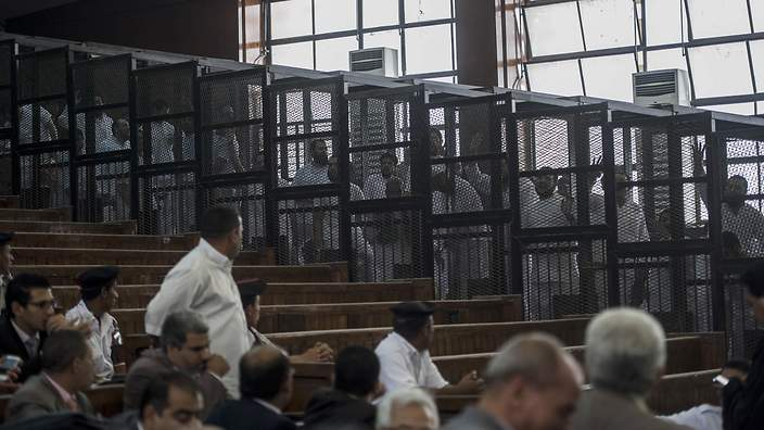 EGYPT-POLITICS-UNREST-TRIAL-ISLAMISTS
