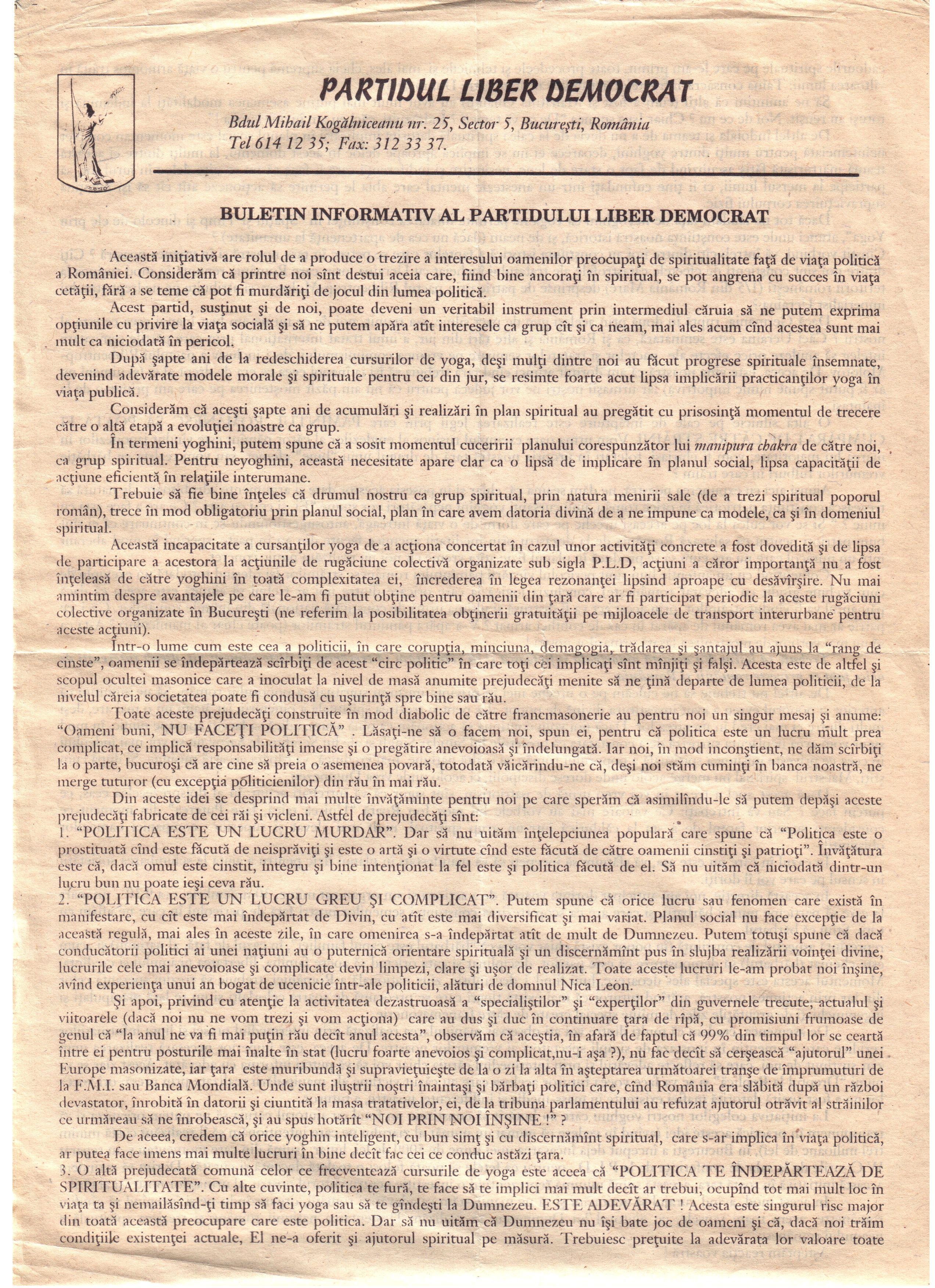 Manifest PLD 1997