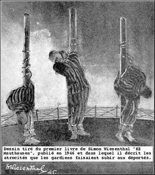 Evrei torturati, dupa Wiesenthal