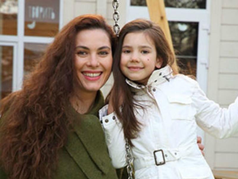 Янина с дочерью