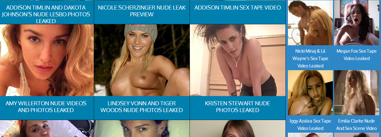 Photos of celebrity hacked