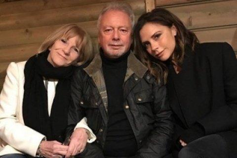 Виктория Бекхэм опубликовала очень трогательное фото с родителями