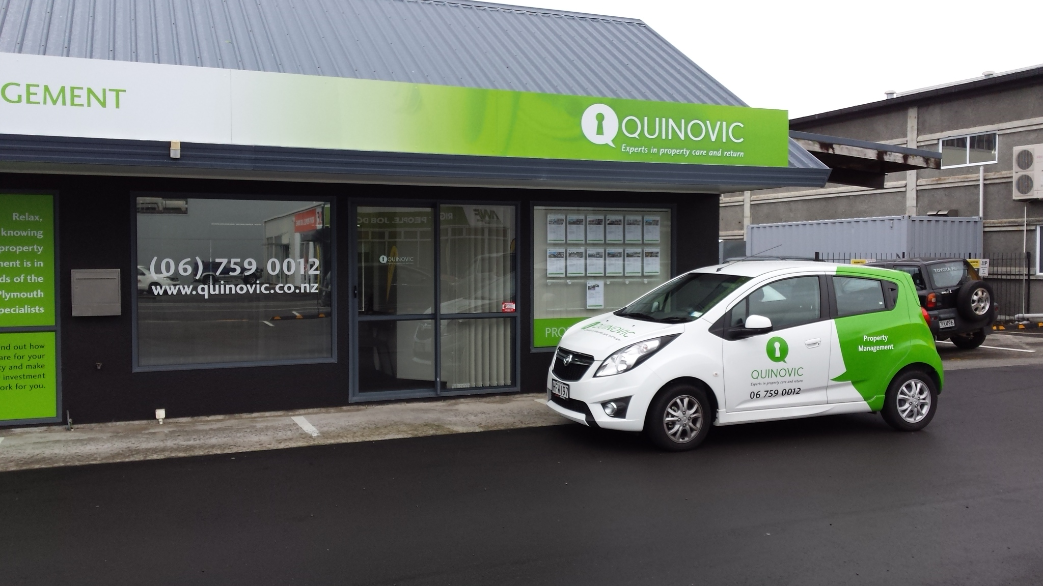Quinovic Property Management - New Plymouth, Taranaki
