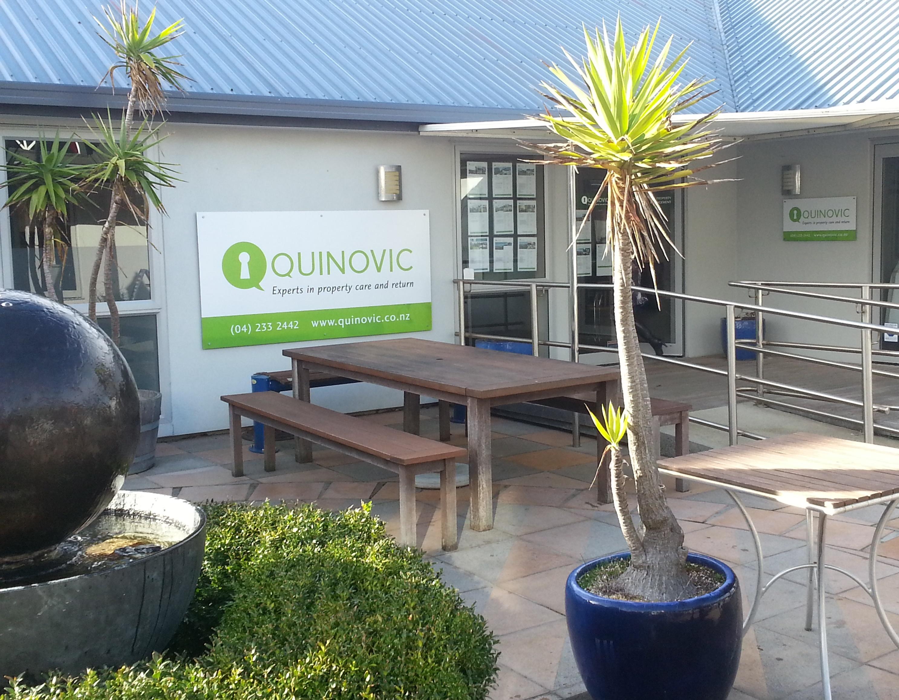 Quinovic Property Management - Whitby, Wellington