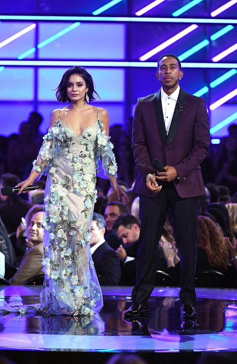 Ванесса Хадженс, Лудакрис (Ludacris) на церемонии вручения музыкальной награды Billboard Music Awards в Ти-Мобайл Арене, Лас-Вегас, 21 мая 2017 г.