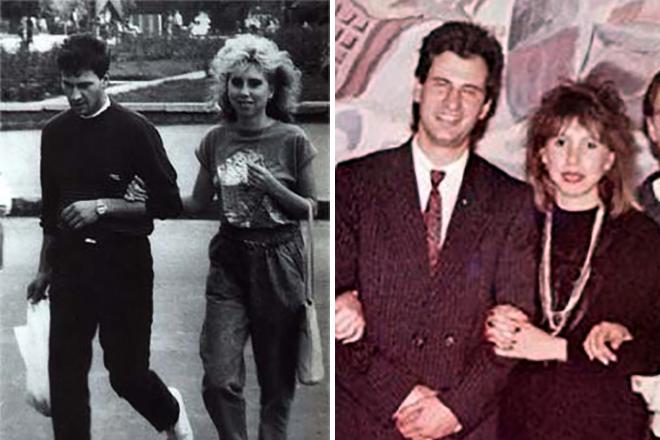 Валерий и Ирина Меладзе в молодости