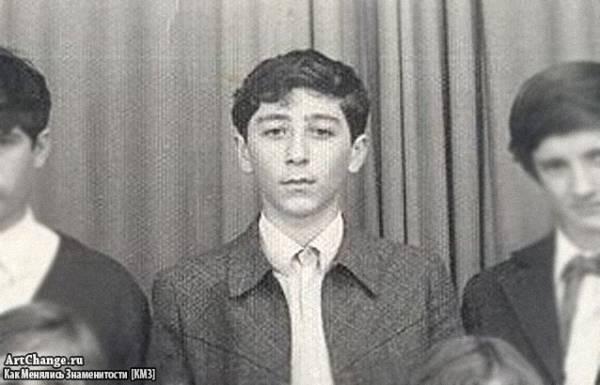 Григорий Лепс в школьные годы, юности (1976)