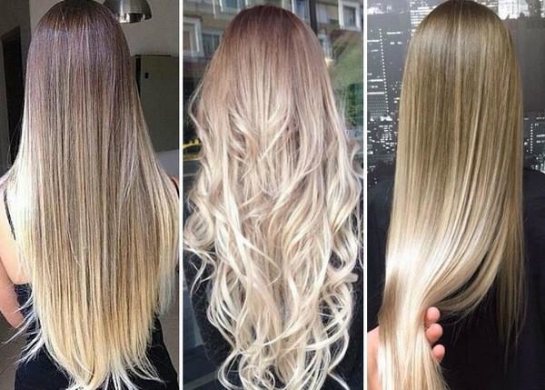 покраска шатуш на русые волосы