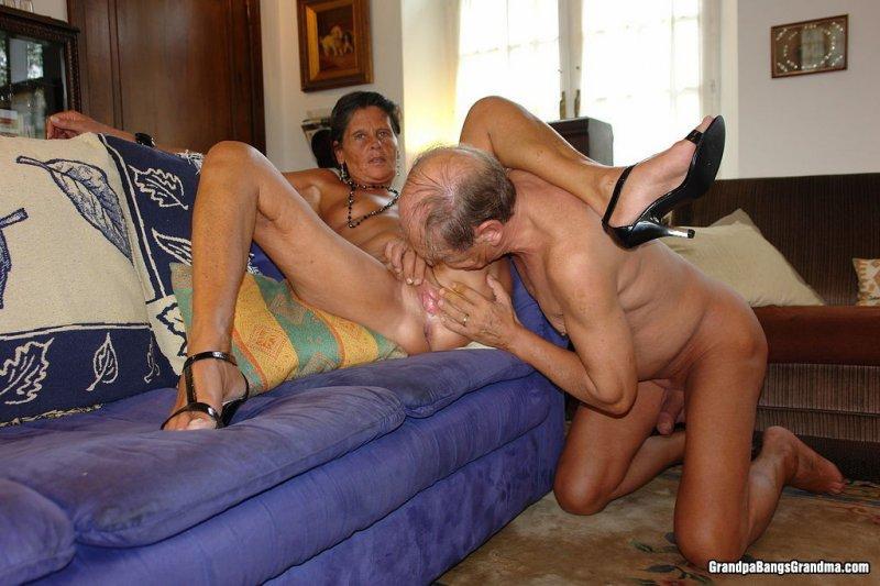Бабушки и дед секс