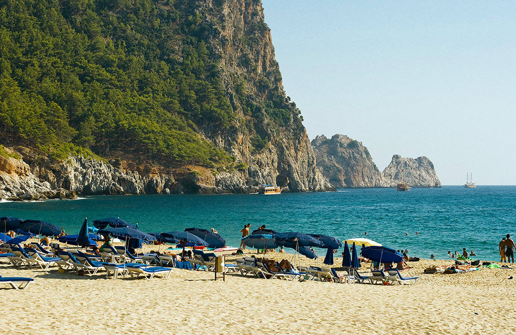Пляжный отдых в Турции