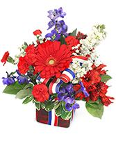 O, Beautiful Vase Arrangement