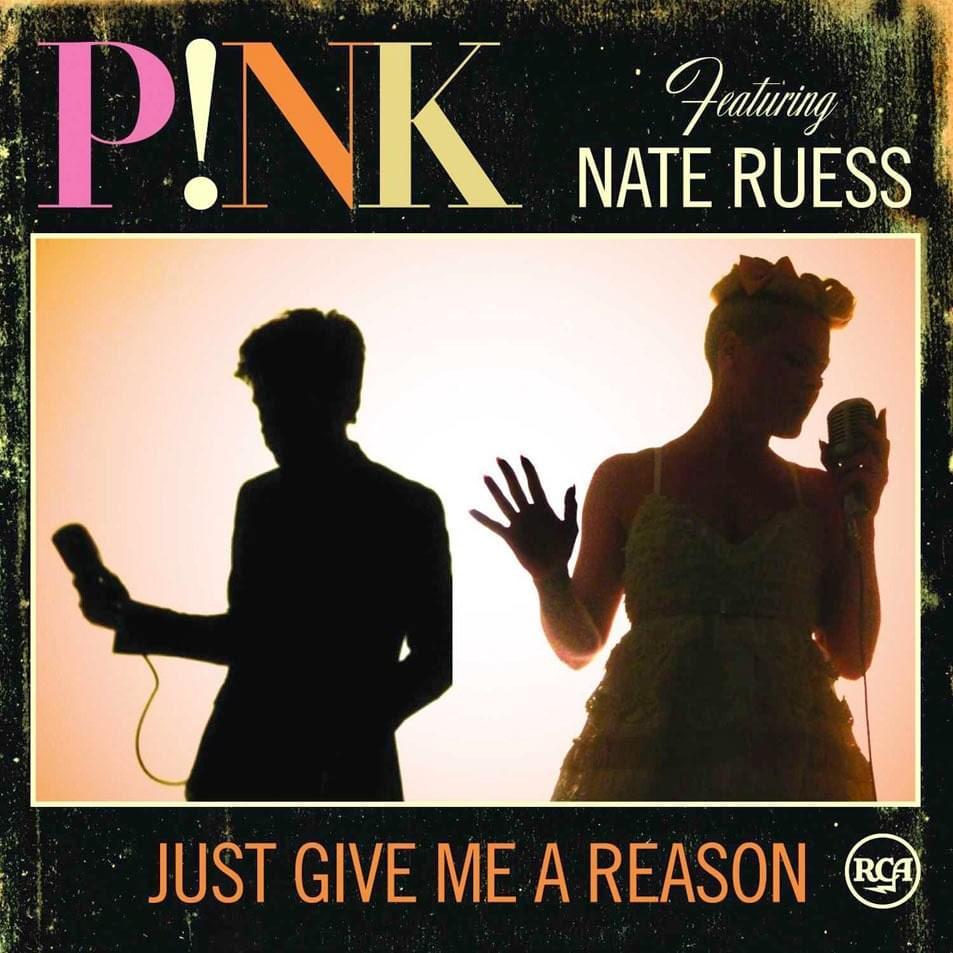 Lirik just gime a reason pink