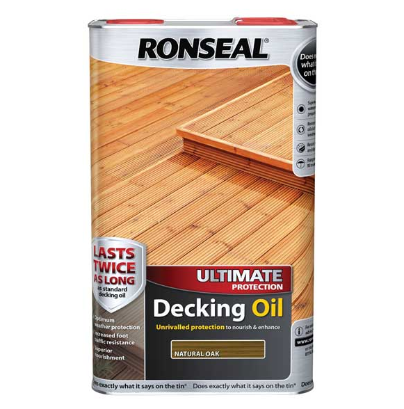 Ronseal decking oil natural cedar