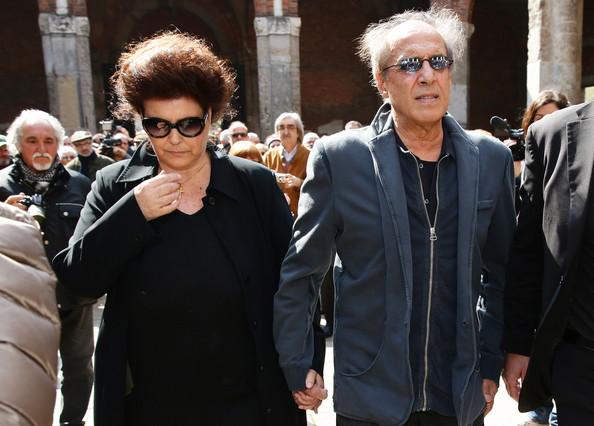 Адриано Челентано с супругой