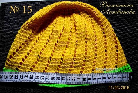 мастер - класс по вязанию ажурной шапочки