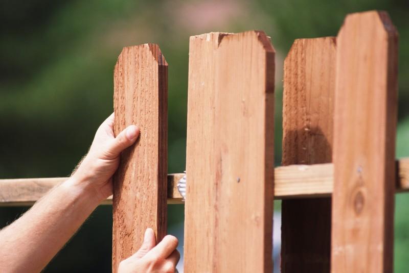 Забор своими руками фото