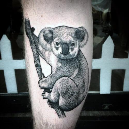 Значение татуировки коала