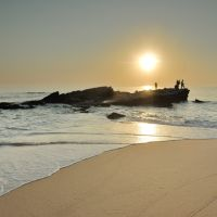 Playa de Ribeira o de los Pescadores