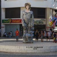 Escultura de Dom Sebastião