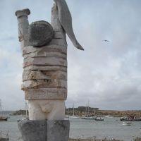 Escultura de homenaje al Pescador