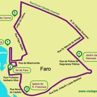 Tren turístico de Faro