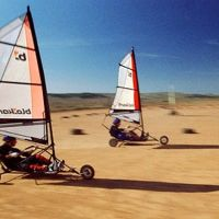 Circuito de Eco-kart Landsailing