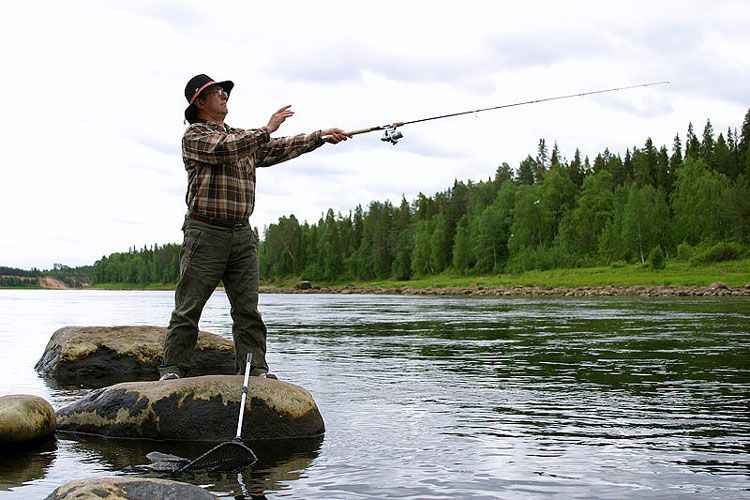 Финская рыбалка