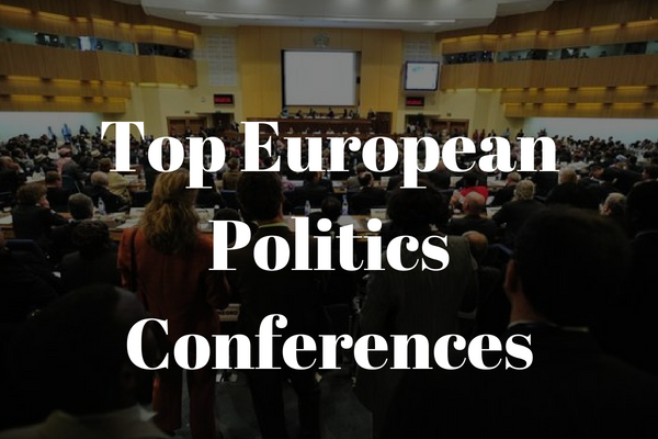 Top politics conferences in Europe