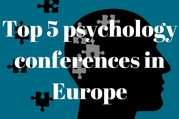 Top academic psychology conferences in Europe